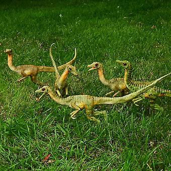 Life-size Dinosaur Model Resin Garden Ornament Handmade Staute Yard Decoration