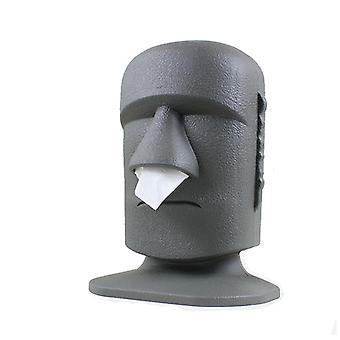 European style stone statue designed tissue napkin holder and dispenser