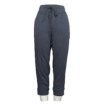 Pantaloni Petite da donna con giogo curvo blu A392852