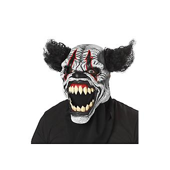 Adult Clown Ani-Motion Mask Halloween Fancy Dress Costume Accessory