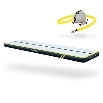 AirTrack SPARK (5m x 1.4m x 0.2m) - Airtrack Mat - The AirFloor Top Model - Blower incl.
