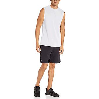 Essentials Mænds 2-Pack Performance Tech Muscle Tank, Navy / Hvid, XX-Large