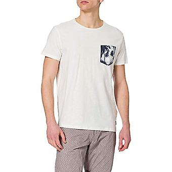 BLEND 20712072 T-Shirt, 110602_Bianco Neve, S Uomo