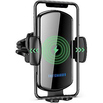FengChun Caricatore Wireless Auto, Ricarica Rapida Qi 15W, Supporto per Telefono per Prese d'Aria