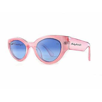 Ruby rocks chunky zante cateye sunglasses in pink