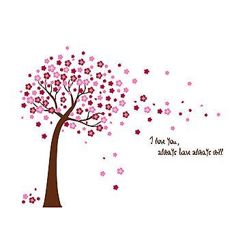 Regenboghorn Pink Cherry Tree Wall Decal Sticker