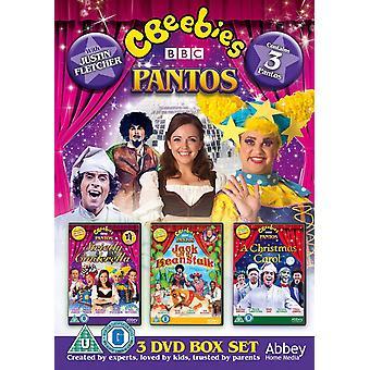 CBeebies Live Panto -  Strictly Cinderella, Jack & The Beanstalk, A Christmas Carol DVD