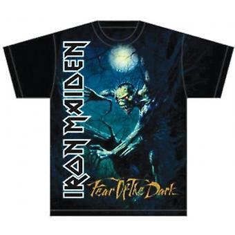 Iron Maiden Fear of the Dark Tree Sprite Mens T Shirt: Sm