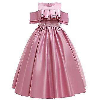 Pageant кружевной лепесток, длинный банкет, платье платья для Set-1
