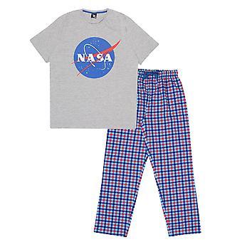 NASA メンズ クラシック ロゴ パジャマ セット