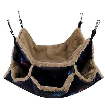 Egern hamster hængekøje, hængende kæledyr sovepose (34 * 34cm)