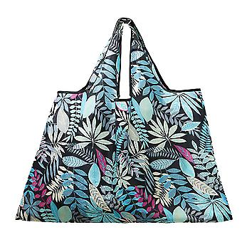 Thickened 210d Oxford Cloth Large Buggy Bag Foldable Oxford Fabric Bag Shopping Bag Portable