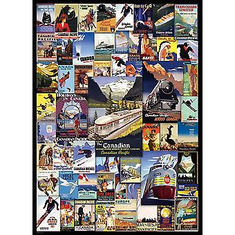 Eurographics Kanada Pasifik Demiryolu Maceraları Yapboz (1000 Adet)