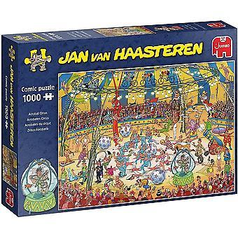 Jumbo Jan Van Haasteren Acrobat Circus Jigsaw - 1000 Piece