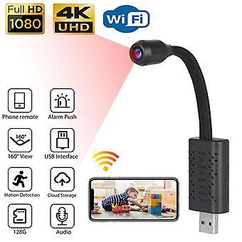 Mini 1080P HD USB IP Security Camera Wireless WiFi 4K Camcorder Night Vision