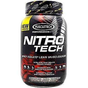 Nitro-Tech, Vanilla - 907 grams