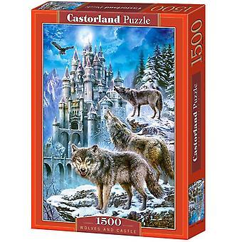 Castorland, Puzzle - Wolves and Castle - 1500 Pieces
