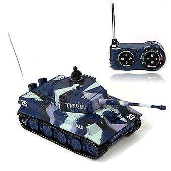 Rc Tiger Tank 14 Ch 1:72 Remote Control Simulated Panzer