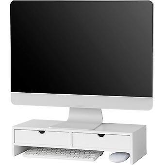 SoBuy Computer Screen Monitor Stolní Organizátor, BBF02-W