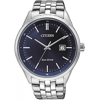 Citizen Silber Edelstahl BM7251-53L Herrenuhr