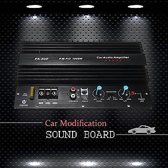 12v 1000w zosilňovač zosilňovač Audio Výkon zosilňovač Výkonné basové subwoofery Pa-80d