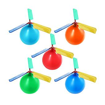 5ks Vrtuľník Balón Prenosné Lietajúce ballon toy
