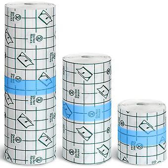 3 Stück Transparenter Stretch Adhesive Bandage Wasserdichte Bandage Klarer Klebstoff
