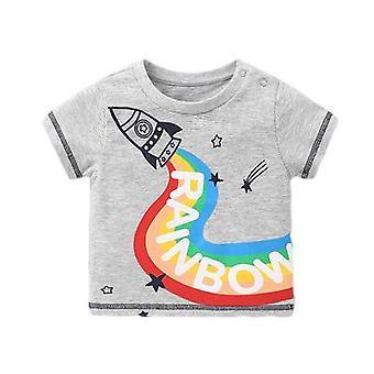 Roupa de bebê camiseta de manga curta Camisa de baixo