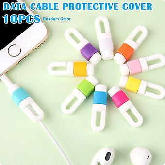 10 Pcs/set Mini Usb Cable Protector For Iphone 6/7/plus Ipad Data Earphone Cables Protected Cover