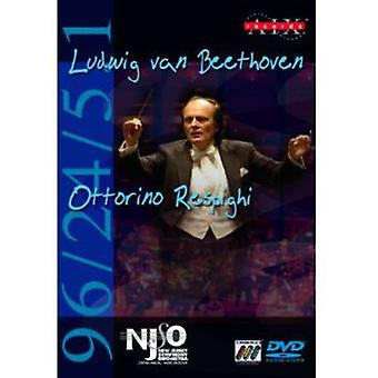 Beethoven/Respighi - Beethoven: Symphonie Nr. 6; Respighi: Pinien von Rom [DVD-Audio + DVD Video] [DVD-Audio] USA Import