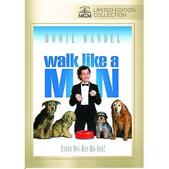 Promenad som en Man [DVD] USA import