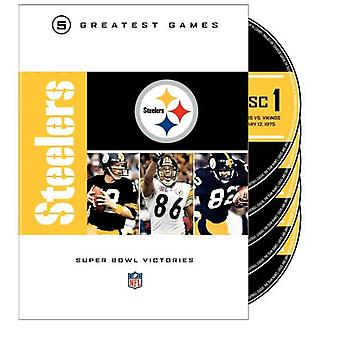 Pittsburgh Steelers Super Bowls [DVD] USA import