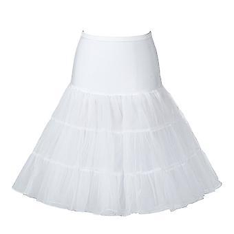 Boolavard 26-tums Retro 50s underkjol Swing Vintage underkjol Fancy netto kjol