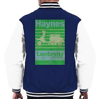 Haynes Owners Workshop Manual Lambretta 47 tot en met 72 verdrietig mannen Varsity Jacket