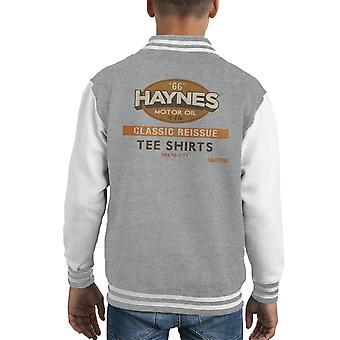 Haynes Classic Reissue Tee Shirts Kid's Varsity Jacket