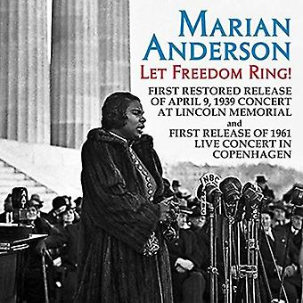 Marian Anderson - Let Freedom Ring! Live Concerts From the [CD] USA import