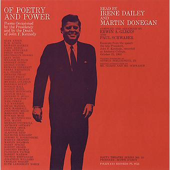 Dailey/Donegan - Of Poetry & Power: Poems Occasioned by the Preside [CD] USA import