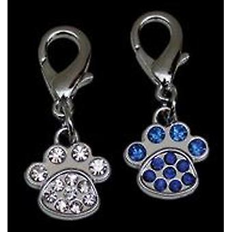 Freedog Hanging white stones mark (Dogs , Collars, Leads and Harnesses , Accessories)