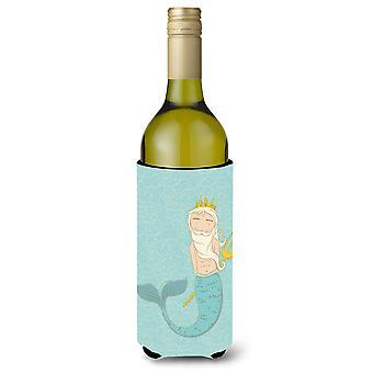 Neptune Merman Wine Bottle Beverge Insulator Hugger