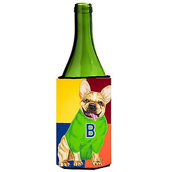 French Bulldog Go Team Wine Bottle Beverage Insulator Hugger