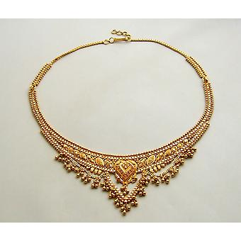 21 k Yellow gold necklace