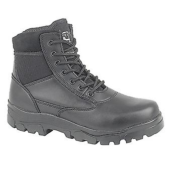 Grafters Mens Sherman Thinsulate Lined 7 Eye Combat Boots