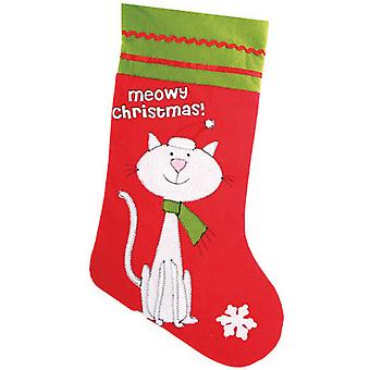 Christmas Shop Pet Cat Stocking