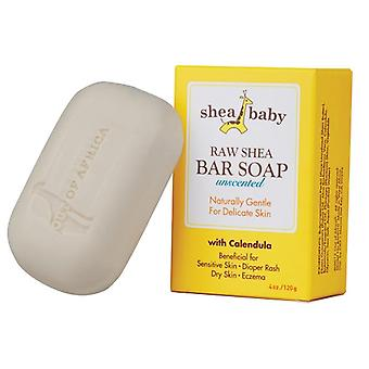 Shea Baby Bar Soap Unscented with Calendula 2 Bar Pack