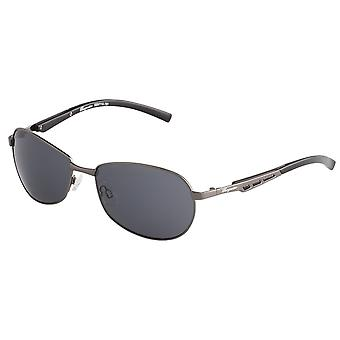 Classic sunglasses for men by Burgmeister with 100% UV protection | sturdy metal frame, high quality sunglasses case, microfiber glasses pouch and 2 year warranty | SBM114-181 Göteborg