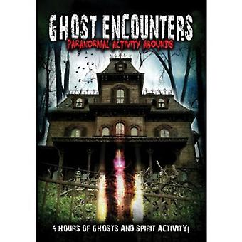 Ghost Encounters: Paranormal Activity Abounds [DVD] USA import