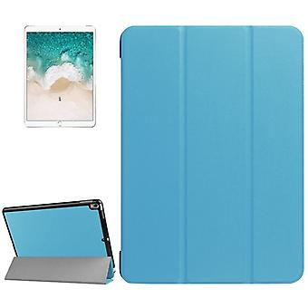 Premium Smart cover light blue pouch for Apple iPad Pro 10.5 2017