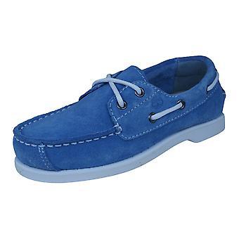 Timberland EarthKeepeers Peakisl 2I børn båd / dæk sko - blå