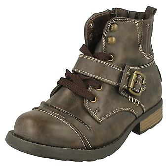 Boys Cutie Casual Combat Boots N2016