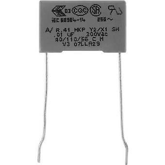 Kemet R413F147000M1M + 1 PC condensador de supresión de MKP Radial plomo 4,7 nF 300 V 20% 10 mm (L x W x H) 13 x 5 x 11